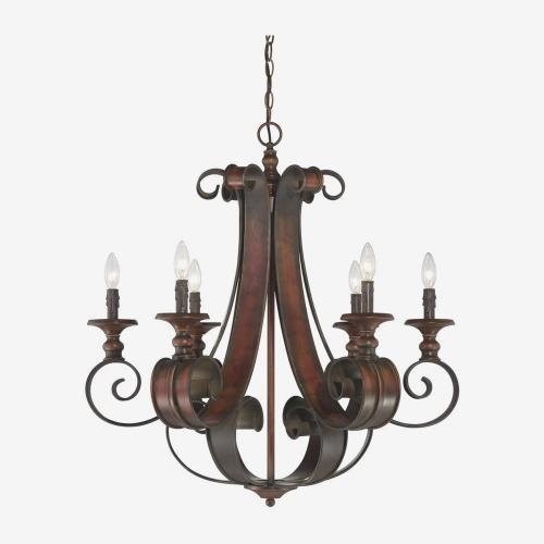 Craftmade Lighting 28026-SPZ Seville - Six Light Chandelier