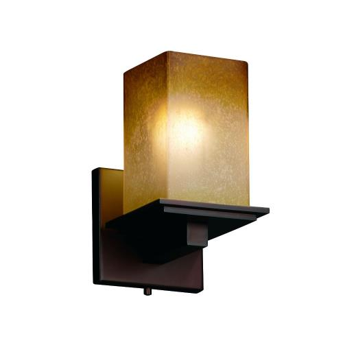 Justice Design FSN-8671-15-CRML Fusion Montana - 1 Light Wall Sconce