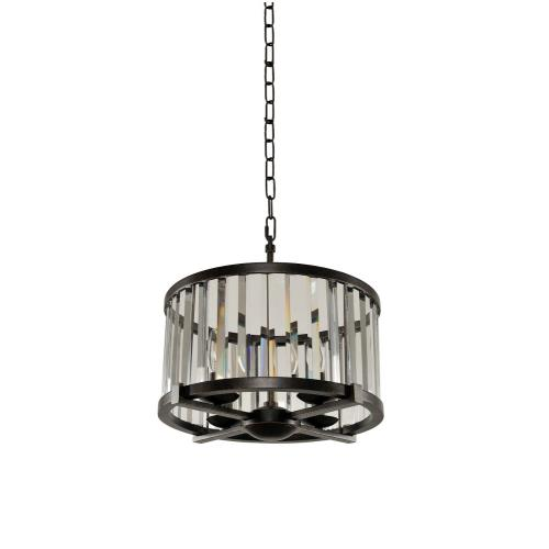 Kalco Lighting 314252SB Essex - Four Light Convertible Pendant