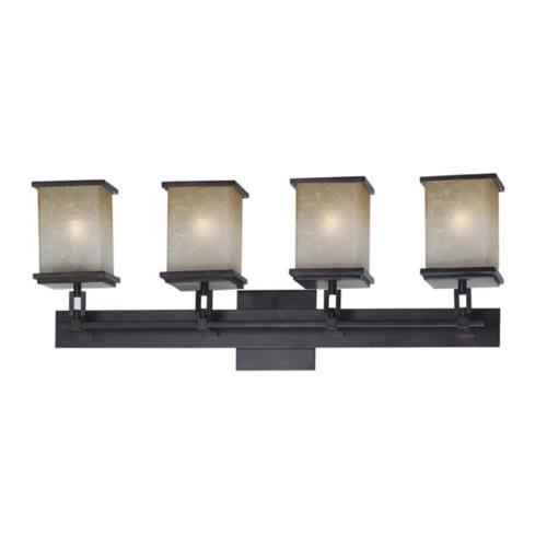 Kenroy Lighting 03375 Plateau 4 Light Vanity
