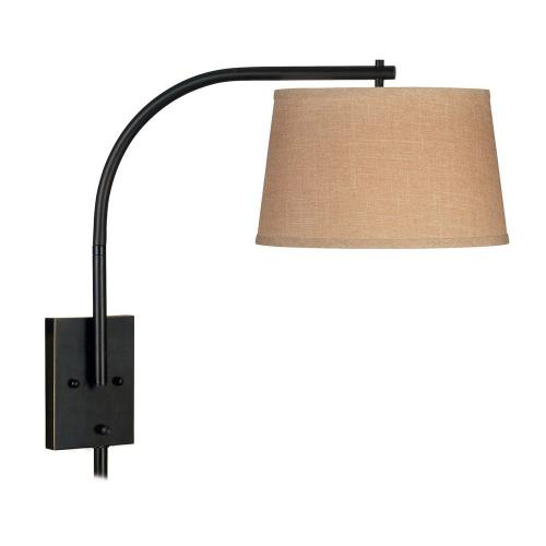 Kenroy Lighting 20950ORB Sweep - One Light Wall Swing Arm Lamp