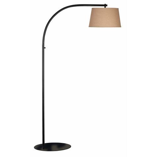Kenroy Lighting 20953ORB Sweep - One Light Floor Lamp