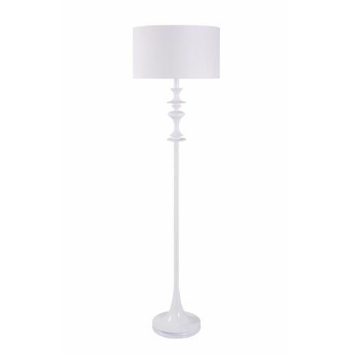 Kenroy Lighting 21034 Claiborne - One Light Floor Lamp