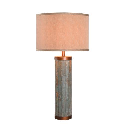 Kenroy Lighting 21036SL Mattias - One Light Table Lamp