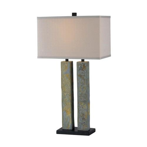 Kenroy Lighting 21039SL Barre - One Light Table Lamp