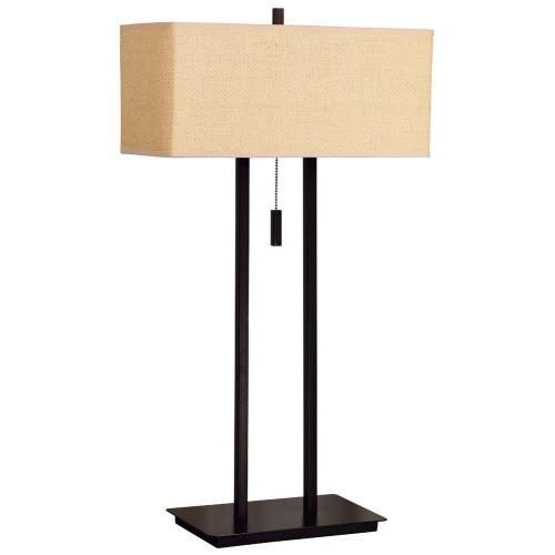 Kenroy Lighting 30816BRZ Emilio - Two Light Table Lamp