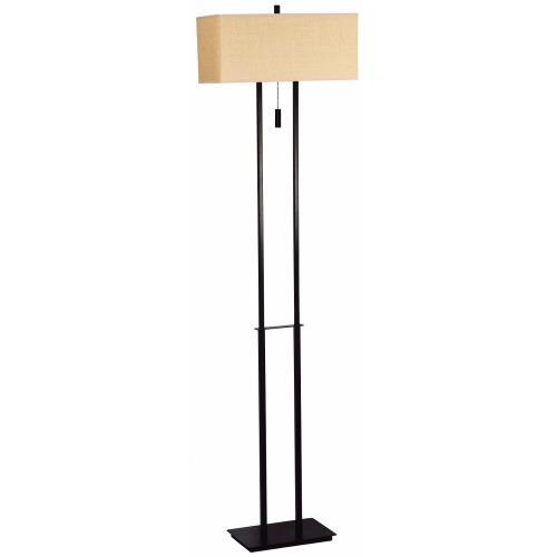 Kenroy Lighting 30817BRZ Emilio Floor Lamp
