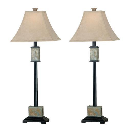 Kenroy Lighting 31201 Bennington - One Light Buffet Lamp - (2-Pack)