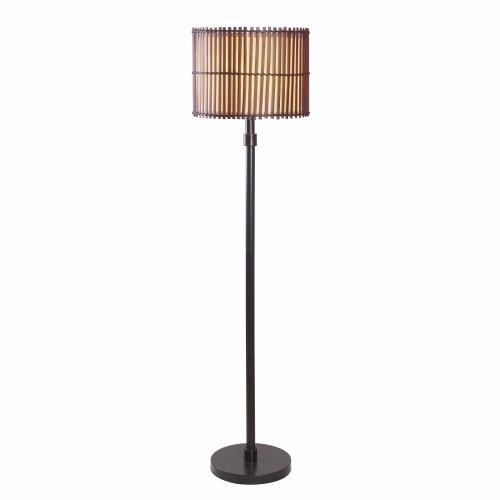 Kenroy Lighting 32280BRZ Bora - One Light Outdoor Floor Lamp