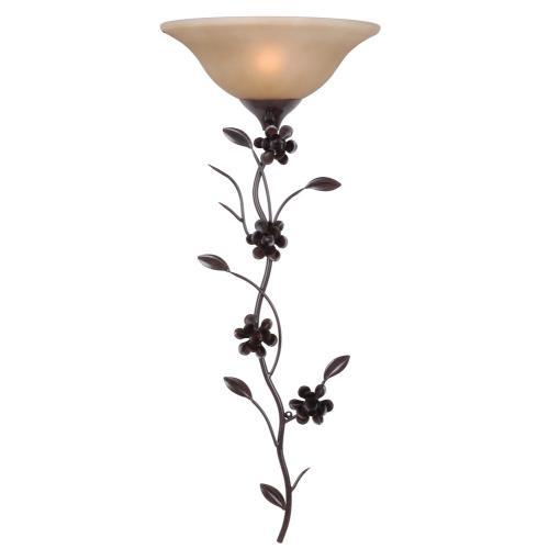 Kenroy Lighting 32303GFBR Blooms - One Light Wall Sconce
