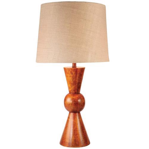 Kenroy Lighting 32443TK Rica - One Light Table Lamp