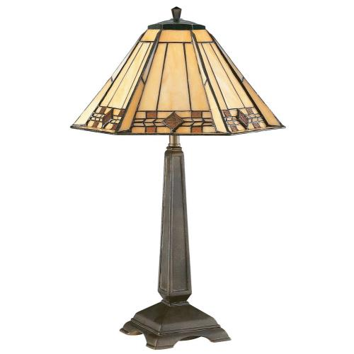 Kenroy Lighting 33041BRZ Willow Accent Table Lamp