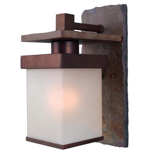 Kenroy Lighting 70281COP Boulder 1 Light Small Wall Lantern