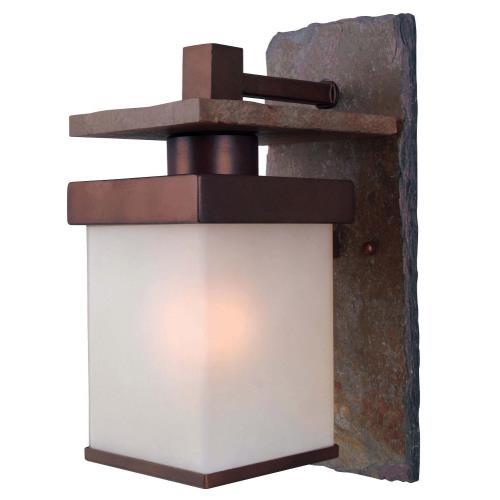 Kenroy Lighting 70283COP Boulder 1 Light Medium Wall Lantern