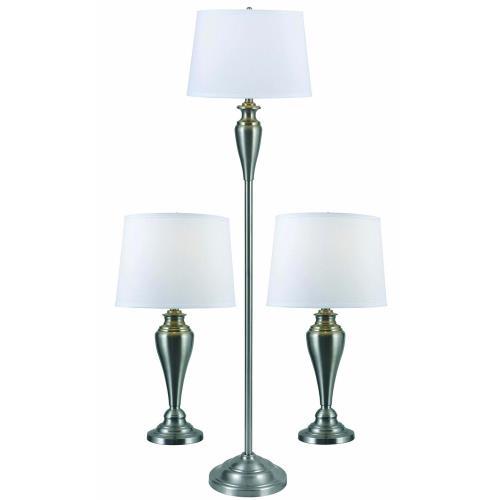 Kenroy Lighting 80013BS Edson - One Light Table Lamp (Pack of 3)