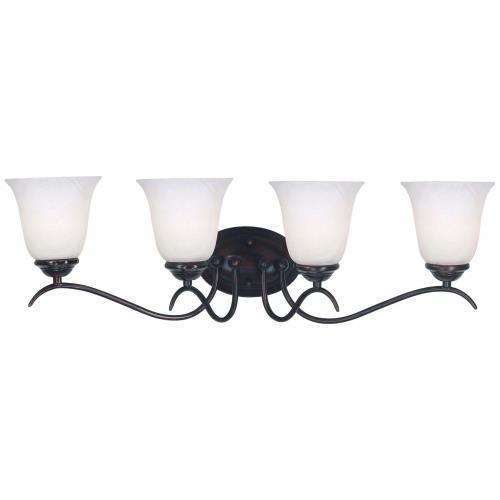Kenroy Lighting 90214ORB Medusa 4 Light Vanity