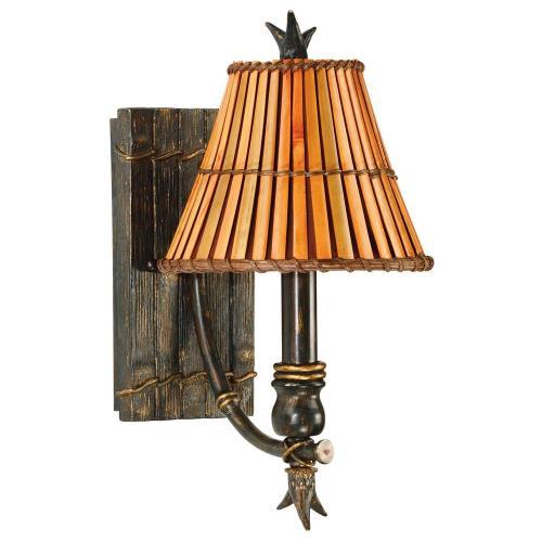 Kenroy Lighting 90451BH Kwai 1 Light Sconce