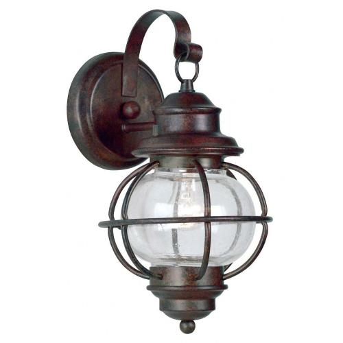Kenroy Lighting 90961GC Hatteras - One Light Small Wall Mount