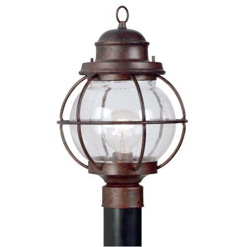 Kenroy Lighting 90967GC Hatteras 1 Light Post Lantern