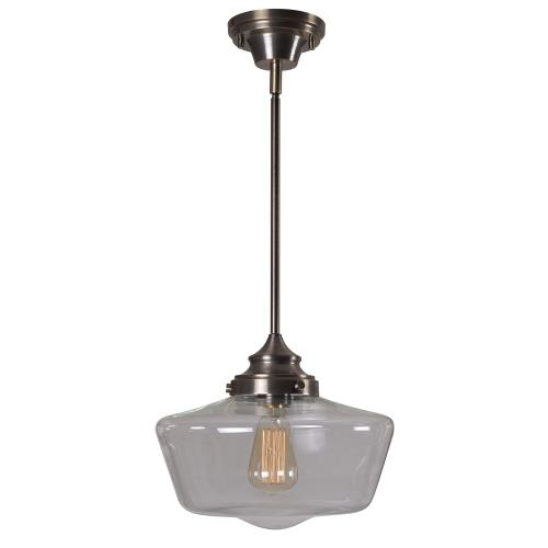 Kenroy Lighting 93661AGM Cambridge - One Light Pendant