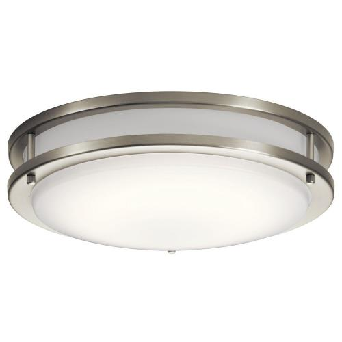 Kichler Lighting 10769 Avon - 28.5W 1 LED Flush Mount - with Transitional inspirations - 3.75 inches tall by 14 inches wide