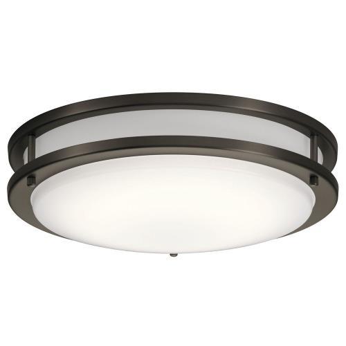 Kichler Lighting 10769 Avon - 14 Inch 28.5W 1 LED Flush Mount