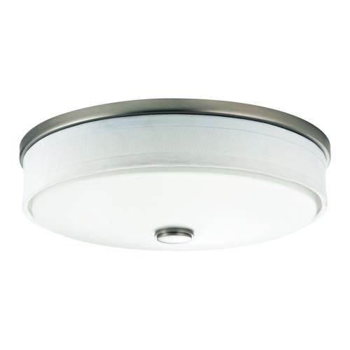 Kichler Lighting 10885NILED 23W 1 LED Flush Mount - with Transitional inspirations - 4.25 inches tall by 13 inches wide