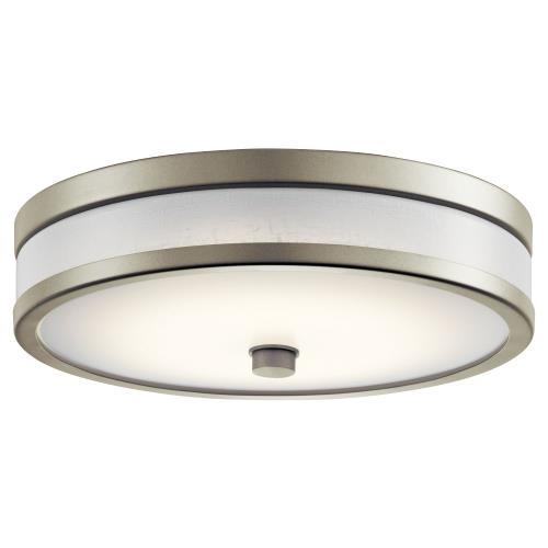 Kichler Lighting 11302P Pira - 19W 1 LED Flush Mount - 12 inches wide