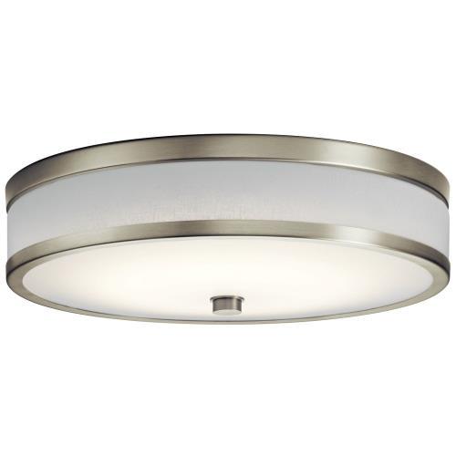 Kichler Lighting 11303P Pira - 28.5W 1 LED Flush Mount - 15 inches wide