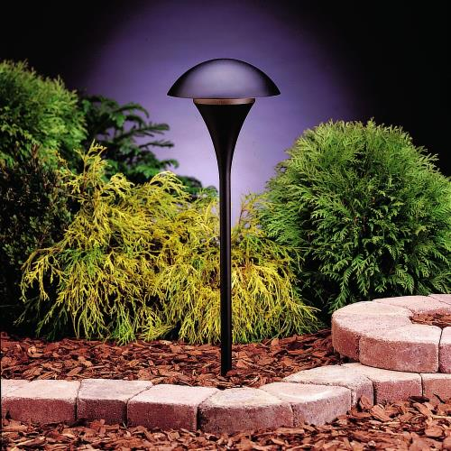 Kichler Lighting 15236 Eclipse - Line Voltage 1 light Path Lamp - with Contemporary inspirations - 25 inches tall by 9 inches wide