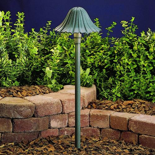 Kichler Lighting 15314MST - Low Voltage 1 light Path Lamp - with Transitional inspirations - 23 inches tall by 7.5 inches wide