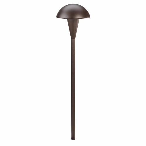Kichler Lighting 15323 Eclipse - Low Voltage 1 light Path Lamp - with Contemporary inspirations - 18.5 inches tall by 4.5 inches wide