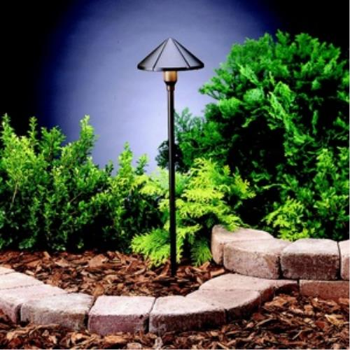 Kichler Lighting 15326 Six Groove - Low Voltage 1 light Path Lamp - 6 inches wide