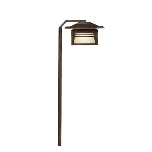 Kichler Lighting 15391OZ Zen Garden - Low Voltage 1 light Path and Spread Light - 24 inches tall by 7 inches wide
