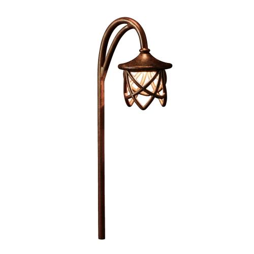 Kichler Lighting 15429TZT Cathedral - Low Voltage One Path Light - with Transitional inspirations - 27 inches tall by 5 inches wide