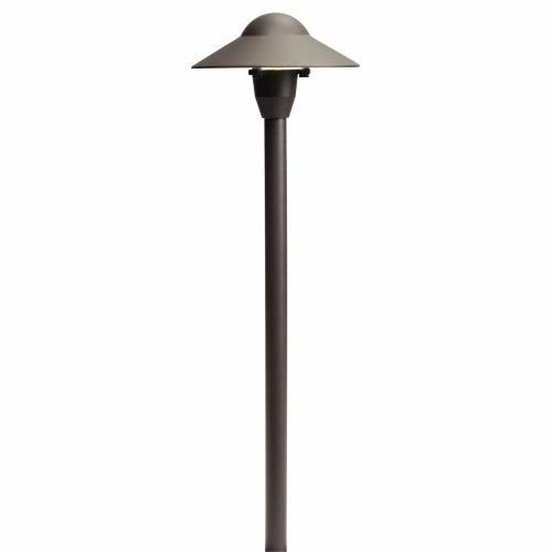 Kichler Lighting 15470 Dome Path Light - with Traditional inspirations - 21 inches tall by 6 inches wide