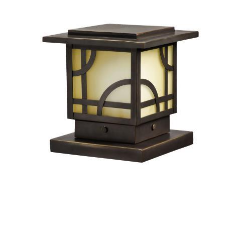 Kichler Lighting 15474OZ Larkin Estate - Low Voltage Post Light
