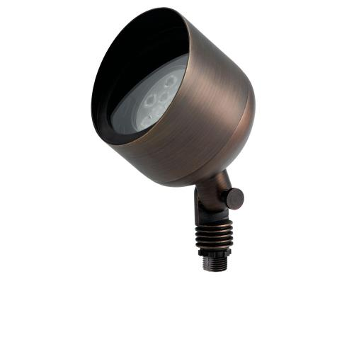 Kichler Lighting 15487CBR 1 light Uplight Accent Light 5.75 inches tall by 4.5 inches wide