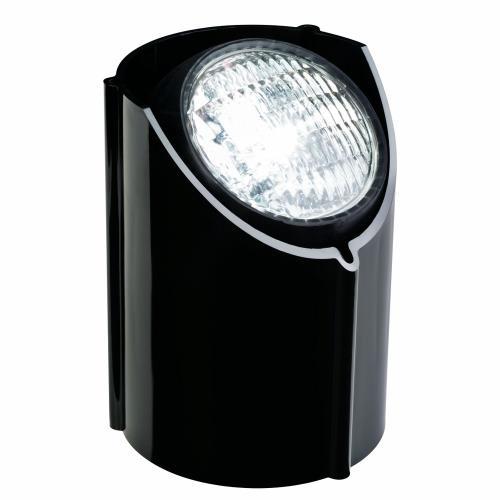 Kichler Lighting 15488BK Low Voltage One Light Well Lamp