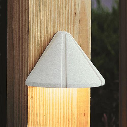 Kichler Lighting 15765-27R 3.75 Inch 0.86W 2700K 1 LED Mini Deck Light