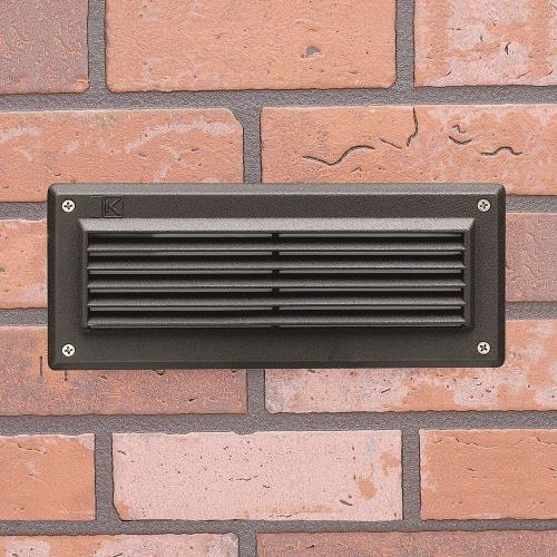 Kichler Lighting 15773 1.72W 2 LED Brick Light - with Utilitarian inspirations - 4 inches tall by 9.5 inches wide