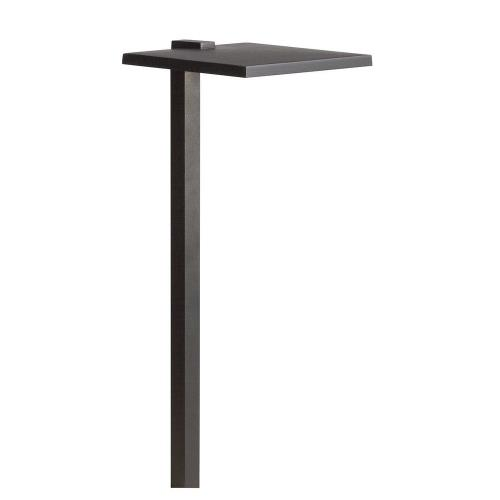 Kichler Lighting 15806 4W 1 LED Shallow Shade Large Path Light - with Contemporary inspirations - 24 inches tall by 8 inches wide