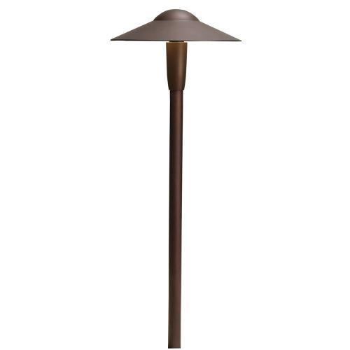 Kichler Lighting 15810-27R 22 Inch 3W 2700K 3 LED Dome Path Light