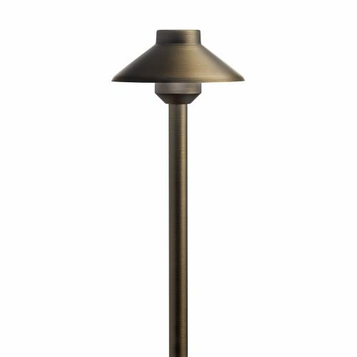 Kichler Lighting 15820 22.5 Inch 2W 3 LED Stepped Dome Path Light