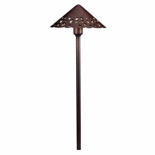 Kichler Lighting 15871 22 Inch 2W 3 LED Hammered Roof Path Light