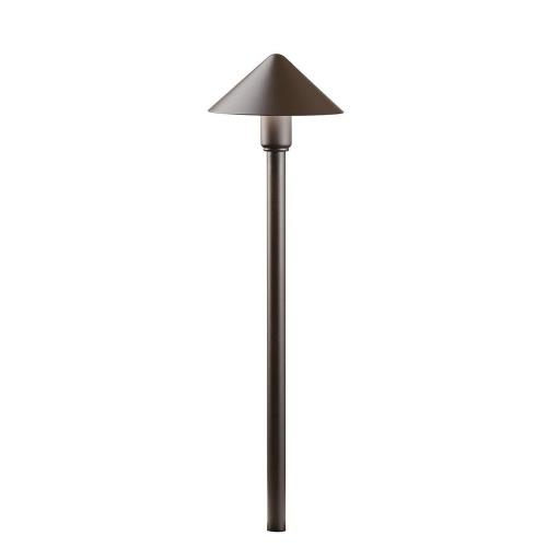 Kichler Lighting 16120 Fundamentals - 4.3W 1 LED Path Light - with Utilitarian inspirations - 18.5 inches tall by 6 inches wide