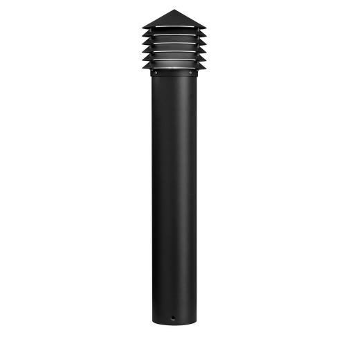 Kichler Lighting 16130-28 Louvered - K 1 LED Louvered Bollard - with Utilitarian inspirations - 29.5 inches tall by 6.25 inches wide