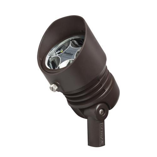 Kichler Lighting 16200BBR30 4.75 Inch 12.5W 3000K 5 LED 10 Degree Spot Accent Light