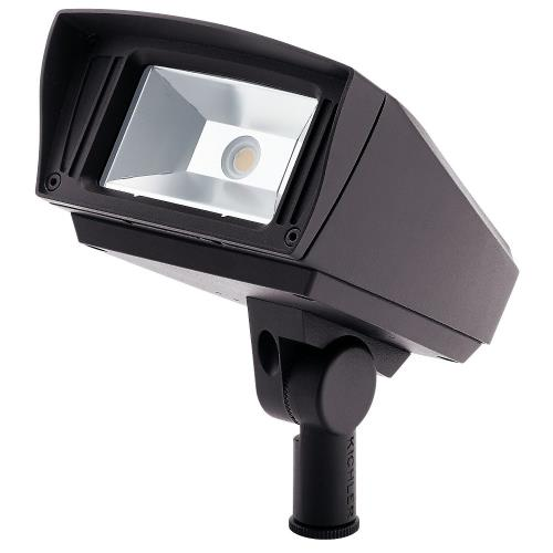 Kichler Lighting 1622130 C-Series - 7 Inch 12W 3000K 1 LED Knuckle-Mount Outdoor Small Flood Light