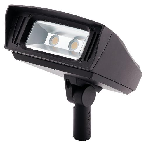 Kichler Lighting 1622330 C-Series - 7 Inch 33.5W 3000K 1 LED Knuckle-Mount Outdoor Medium Flood Light